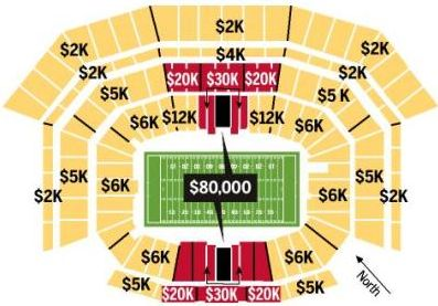 Wow! Tickets for the 2013 Super Bowl cost between $2,000 and $80,000 each - Do professional sports teams                      really need to be on government welfare programs when they can make this kind of money????